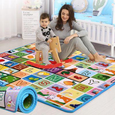 防水防潮加厚宝宝爬行垫加厚爬爬垫儿童地垫卧室铺地板泡沫垫家用