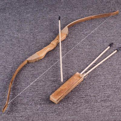 儿童玩具 3-6周岁 7岁弓箭 木制古代传统玩具 儿童射箭 套装 男孩