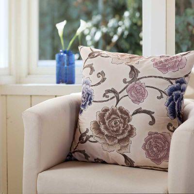 欧式沙发奢华提花靠垫抱枕靠枕套含芯超大码 床靠背垫套护腰枕头