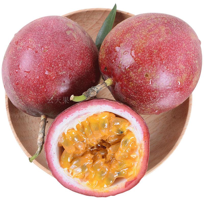 【送开果器】广西百香果5斤装大果新鲜水果酸甜多汁整箱批发包邮_2