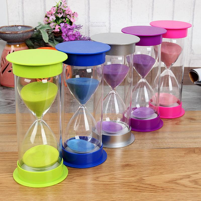 便宜的新年创意礼品 沙漏计时器 儿童防摔吃饭作业时间书房客厅餐厅摆件