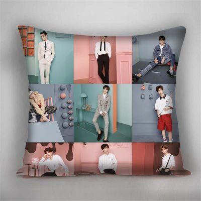 nine percent抱枕偶像练习生组合来图靠垫礼物沙发午睡靠枕头