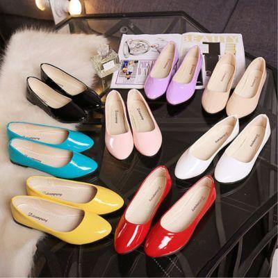 鞋子女学生韩版平底鞋豆豆鞋女单鞋女鞋子时尚百搭简约经典舒适款