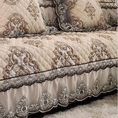 冬季欧式沙发垫防滑加厚坐垫布艺沙发套罩巾全包四季通用简约定做
