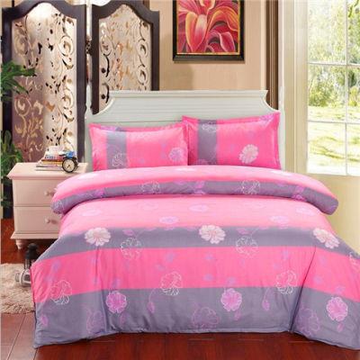 纯棉宿舍被套件套公主床单被罩真丝简约套家纺套纯棉莫代尔布料棉