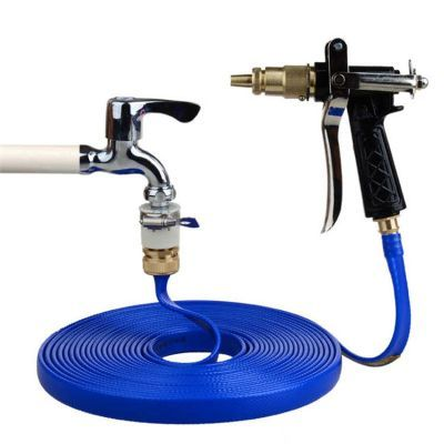 5-100m洗车水枪套装家用高压汽车浇花水喷枪头防冻防爆软水管用品