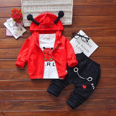 男女童装 小宝宝春秋装0-1-4岁男宝女宝衣服秋天穿婴儿童套装女童