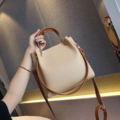 【送香包】包包女2020春夏新款潮韩版水桶包大容量单肩手提斜挎包