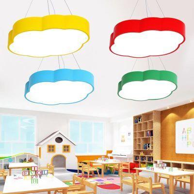 星星儿童房吊灯男孩女孩卡通创意个性造型卧室教室云朵幼儿园灯具
