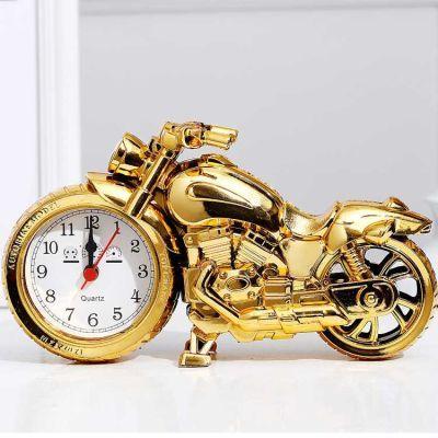 日用品闹钟四款式摩托车闹钟时尚个性创意闹钟学生床头钟家居闹