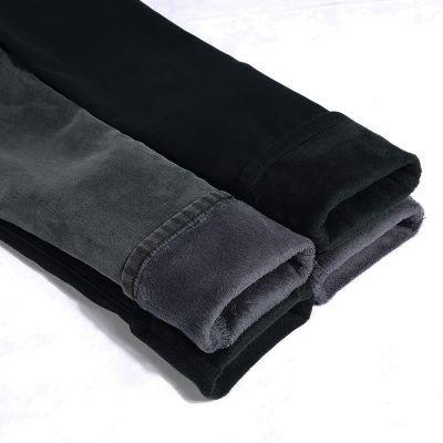 《高品质》加绒加厚保暖牛仔裤女弹力紧身显瘦高腰韩版冬季新款潮