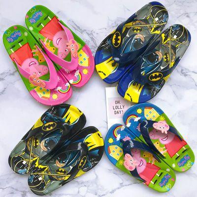 男孩女童新款夏季小孩子儿童沙滩外穿夹脚趾人字拖软底防滑凉拖鞋