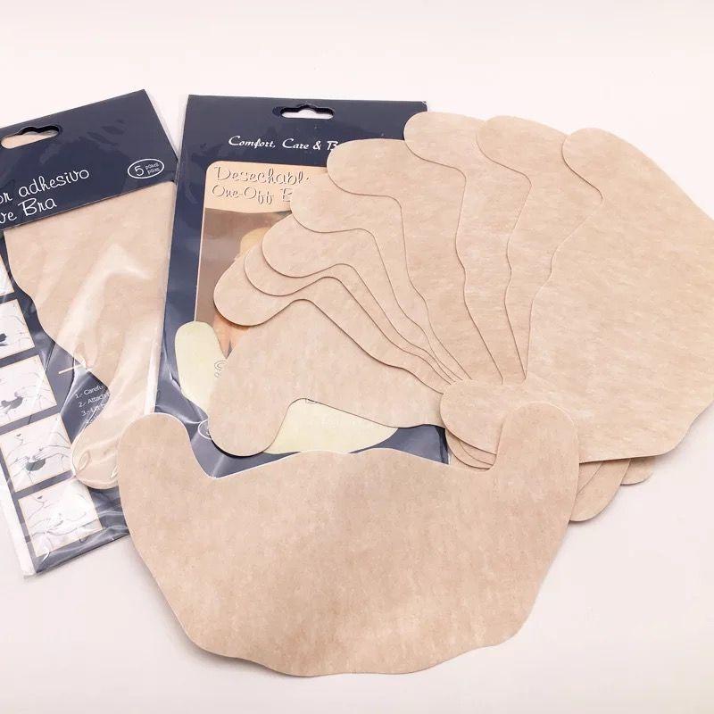 便宜的硅胶隐形文胸上托聚拢防下垂婚纱透气乳贴一次性超薄提胸贴收副乳