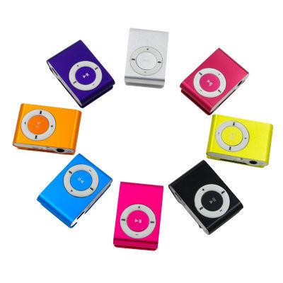 随身听MP3金属夹子MP3学生插卡mp3播放器无屏跑步运动MP3迷你MP4
