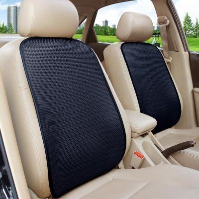 汽车腰靠冰丝透气车用靠垫夏季排汗单片座椅背垫夏天薄款靠背腰垫