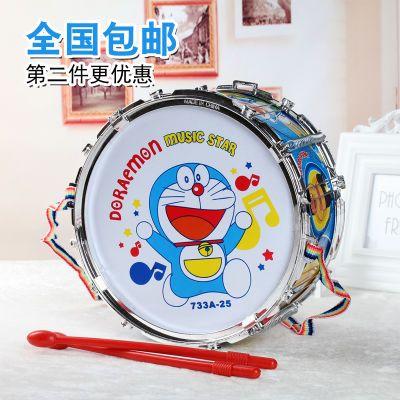 儿童玩具鼓幼儿园宝宝敲打鼓婴儿手拍鼓儿童鼓乐器双面鼓小鼓玩具