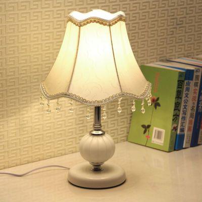 欧式卧室装饰婚房温馨个性小台灯喂奶现代可调光LED节能床头灯