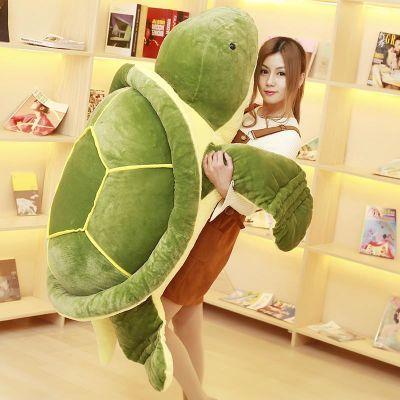 乌龟公仔毛绒玩具女生大号海龟布娃娃玩偶腰靠可爱女孩睡觉抱枕头