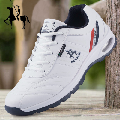 奈客保罗男鞋气垫运动鞋男士休闲鞋韩版潮流跑步鞋学生鞋子男防滑