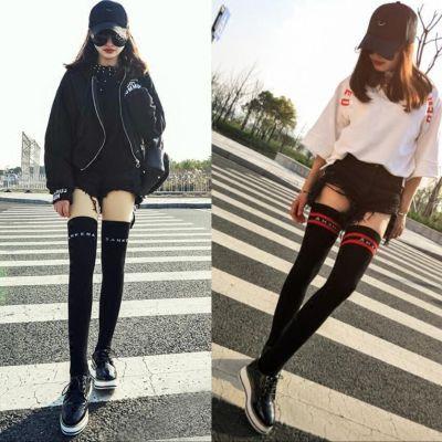 【买2单送1双】【超值两件装】学生过膝袜子日系长筒高筒袜女显瘦
