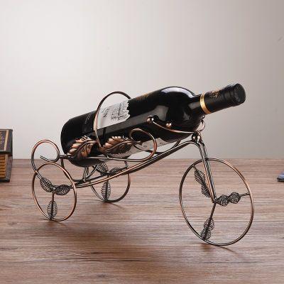欧式创意不锈钢红酒架 吧台酒柜洋酒架 简约葡萄酒瓶架红酒托摆件
