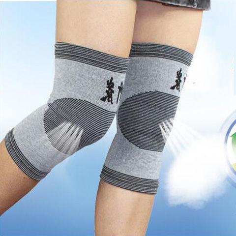 春夏护膝竹炭护膝盖护膝男女老寒腿关节四季保暖护膝加厚四季护腿