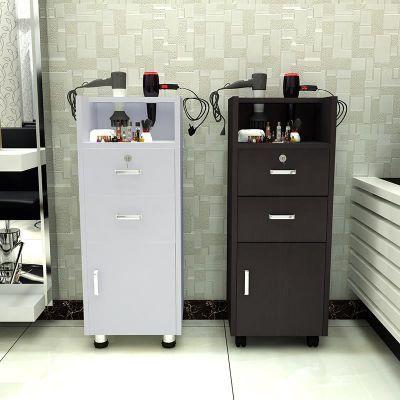 理发柜发廊工具柜工具车美发镜台展示柜美容美发推车木质柜子