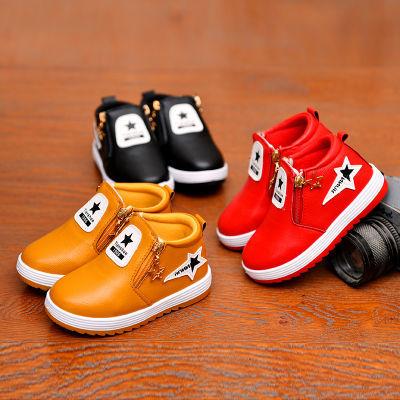 儿童棉鞋冬季男童鞋女童加绒加厚保暖二棉鞋中大童鞋男女孩运动鞋