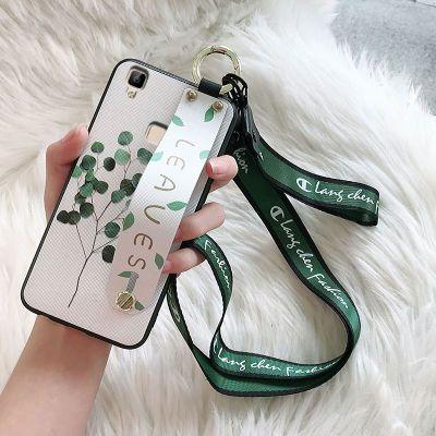 vivov3手机壳女款v3max保护套v3ma硅胶挂绳腕带xplay5a个性xplay6