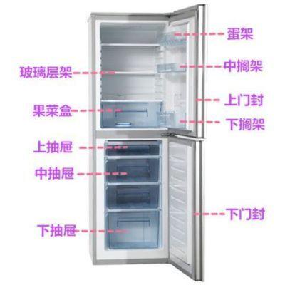 容声BCD-190G/S冰箱抽屉 果菜盒 门搁架 门封 玻璃层架 原厂配件