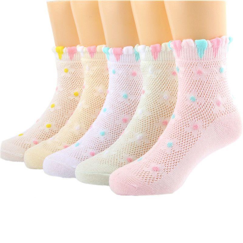 夏季儿童袜子女童袜子春秋纯棉中筒薄袜儿童袜子男宝宝袜子女儿童