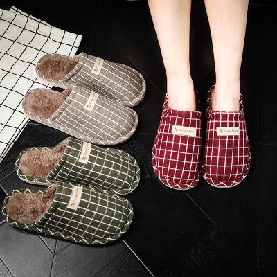 厚棉鞋女拖冬季网红包根士加保暖可爱学生宿舍底跟情侣泡沫家用室