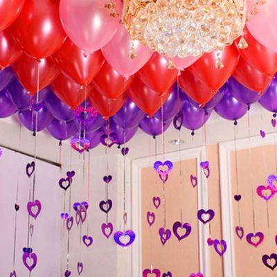 大气球超加厚装饰房间的72寸爱心吹玩具网红夜光摆摊用品儿童情人