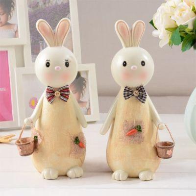 大号韩国创意可爱招财兔子存钱罐小礼品 时尚节日儿童学生储钱罐�