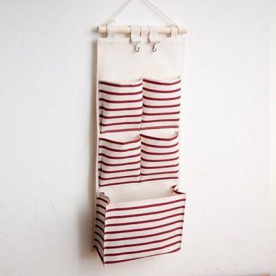 置物袋客厅家用卧室浴室图案冰箱物件神器卫生间收纳挂袋整理袋�