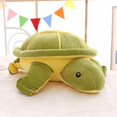 男孩睡觉儿童男生送女友抱着婴儿绿色玩偶乌龟抱枕公仔玩偶女生�