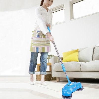 手推式扫地机 不用电吸尘器 家用地板清洁器 手动洁地机颜色随机