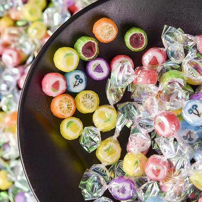 圣诞节情人节糖果礼盒迷你水果切片糖千纸鹤糖批发混装儿童零食