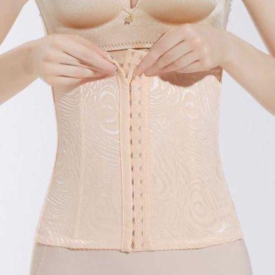收腹带女瘦身无痕美体塑身衣减肚子收腹薄款腰封束腰束缚绑带