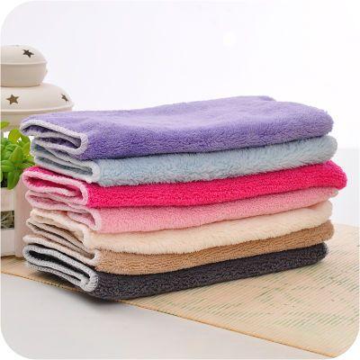 20条装竹纤维洗碗巾双层不沾油吸水加厚不掉毛洗碗巾厨房毛巾抹布