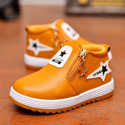 儿童鞋单鞋秋冬季童鞋女加绒加厚保暖二棉鞋中大童鞋男女孩运动鞋