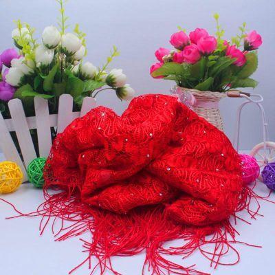 结婚婚庆用品头巾喜庆用品新婚新娘配件头纱亮喜红头盖