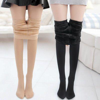 压力瘦腿肤色保暖加厚加绒打底裤女外穿裤袜女光腿神器秋冬连裤袜