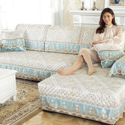 欧式沙发垫四季通用布艺坐垫简约现代夏季沙发套全包万能套罩