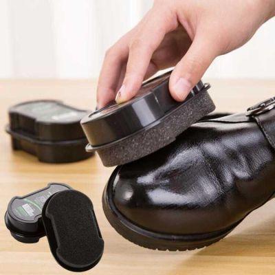3-10个装皮鞋保养增亮神奇鞋擦双面海绵擦鞋鞋蜡鞋油刷子