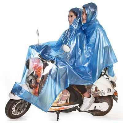 【雨季必备】雨衣电动车摩托车雨披加大加宽雨衣雨披珠光PVC面料