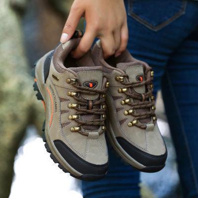 骆驼洲户外男鞋运动鞋男透气防滑徒步鞋男士秋冬季休闲跑步鞋子男