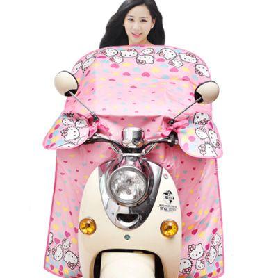 【新款上市】肯捷电动车挡风被夏季防晒罩电瓶车遮阳罩电动自行车