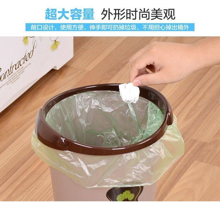 【买1送1同款】垃圾桶家用无盖大号客厅卧室厨房卫生间办公室纸篓