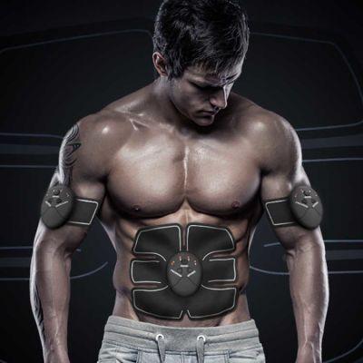 瘦身器材智能健腹器收腹部贴运动健身器材练腹肌轮训练器肌肉仪